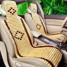 accesorios coche bambu