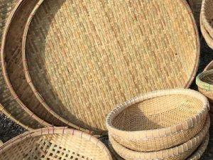 canasta bambu