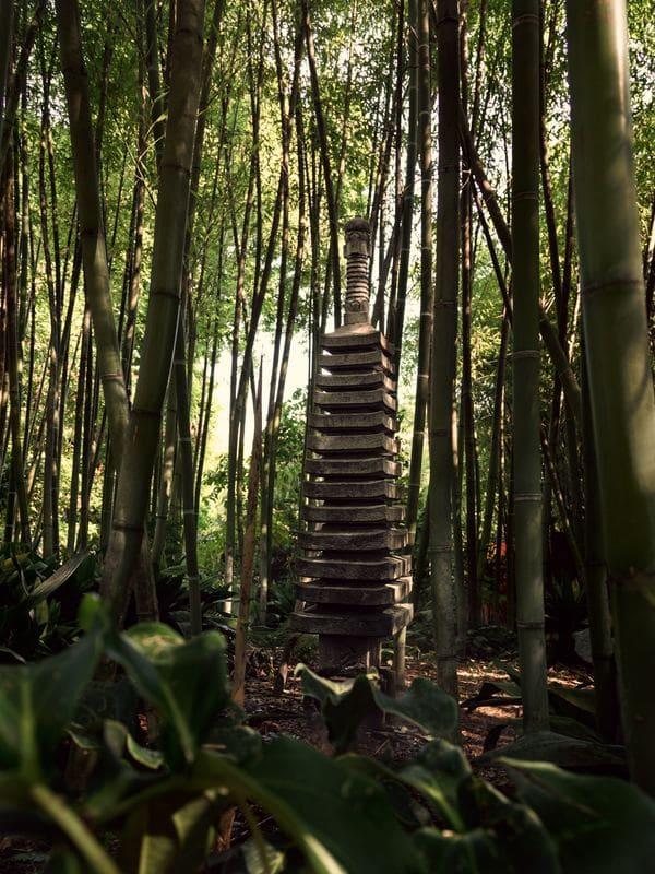 monumento de bambu